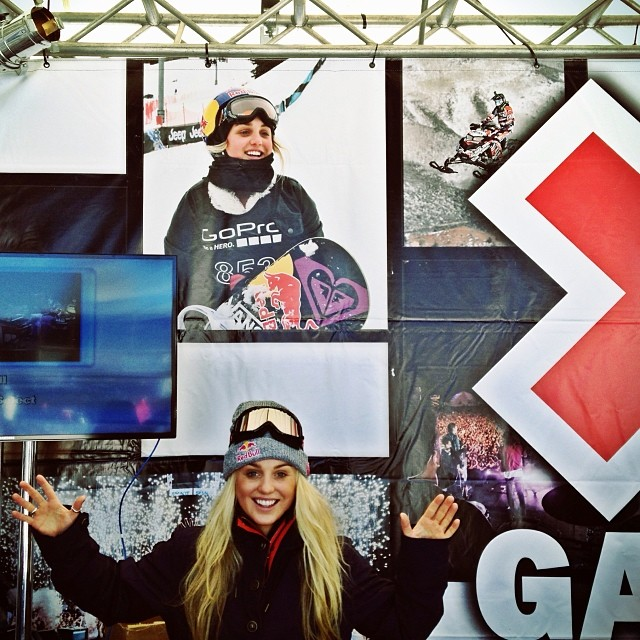 Amy at x games