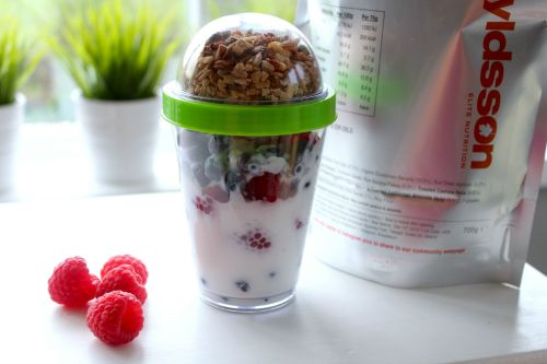 Yogurt Cup filled