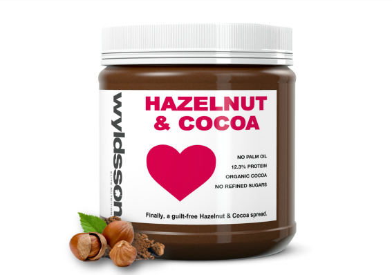 Hazelnut and cocoa nut butter